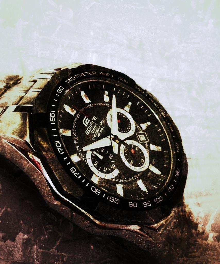 Time is fadingaway
