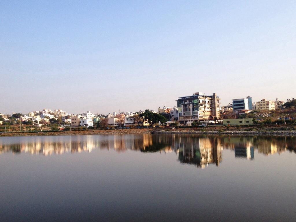 Morning at Dorai Kere,Bangalore