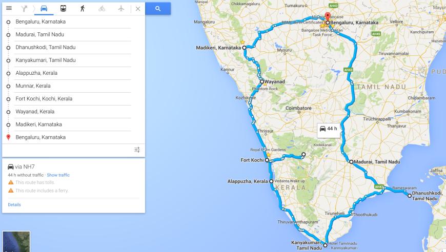 West coast road trip 2015