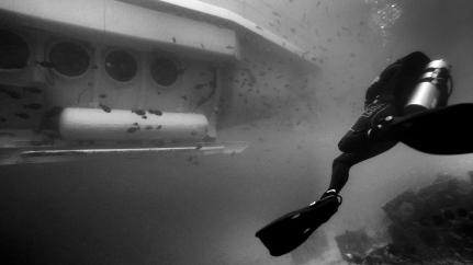 The submarine Odyssey - Bali, Indonesia